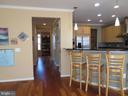 Kitchen/Breakfast Bar/Family Room - 10623 LEGACY LN, FAIRFAX