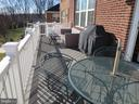 Balcony - 10623 LEGACY LN, FAIRFAX