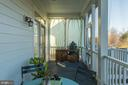 Screened in back porch - 17013 SILVER ARROW DR, DUMFRIES