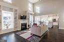 Beautiful built ins are an upgrade - 17013 SILVER ARROW DR, DUMFRIES