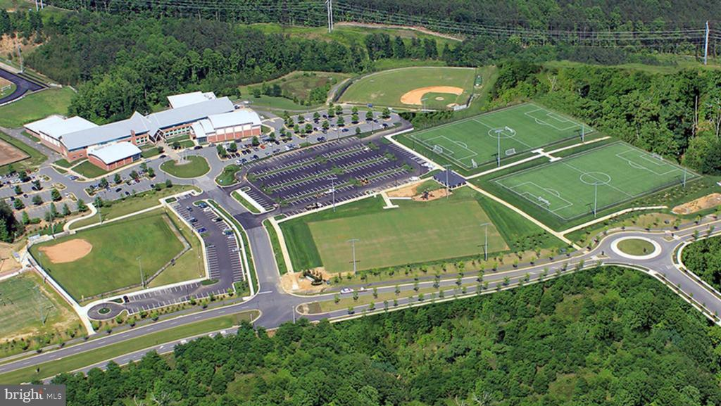 John Paul The Great HIgh School and Ali Krieger - 17013 SILVER ARROW DR, DUMFRIES