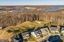 Beyond the golf course lies Powells Creek - 17013 SILVER ARROW DR, DUMFRIES