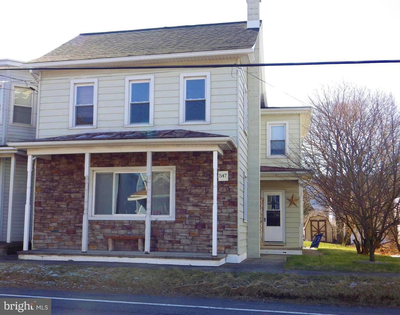 Single Family Homes για την Πώληση στο 547 E MAIN Street Hegins, Πενσιλβανια 17938 Ηνωμένες Πολιτείες
