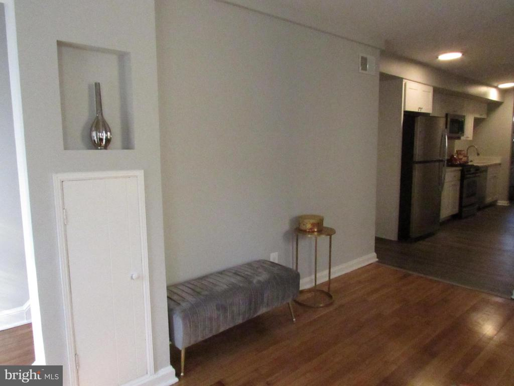 Original refinished hardwood floors! - 3426 CROFFUT PL SE, WASHINGTON