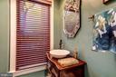 Full bath off den. - 1423 36TH ST NW, WASHINGTON