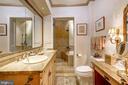 Luxurious second floor bathroom. - 1423 36TH ST NW, WASHINGTON