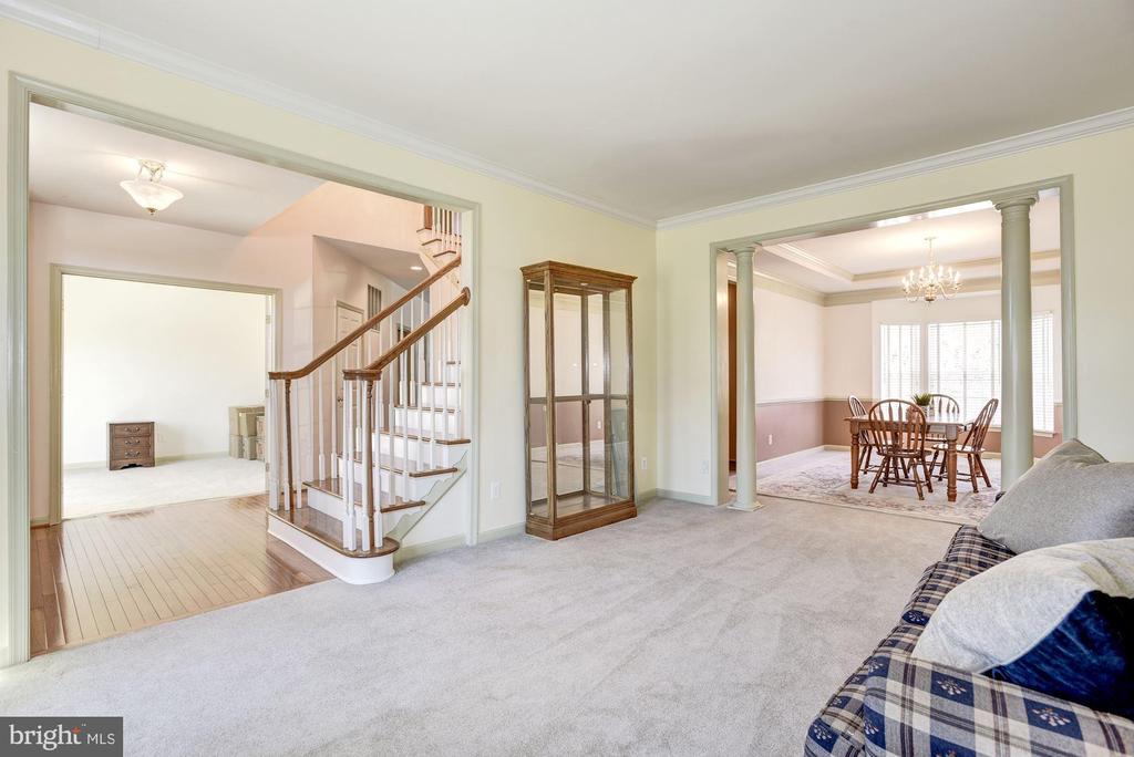 Spacious Living Room - 25558 MINDFUL CT, ALDIE