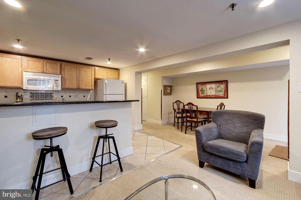 Lower Level Income Unit- Breakfast Bar - 1008 E CAPITOL ST NE, WASHINGTON