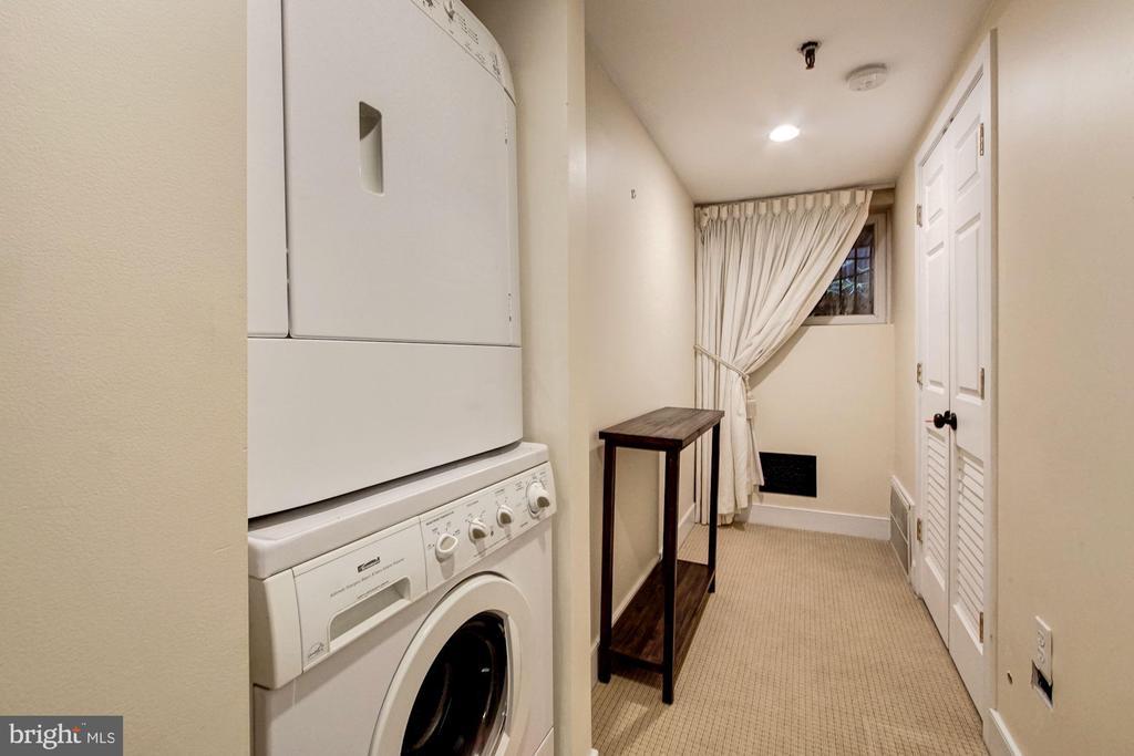 Lower Level Income Unit- Laundry and storage - 1008 E CAPITOL ST NE, WASHINGTON