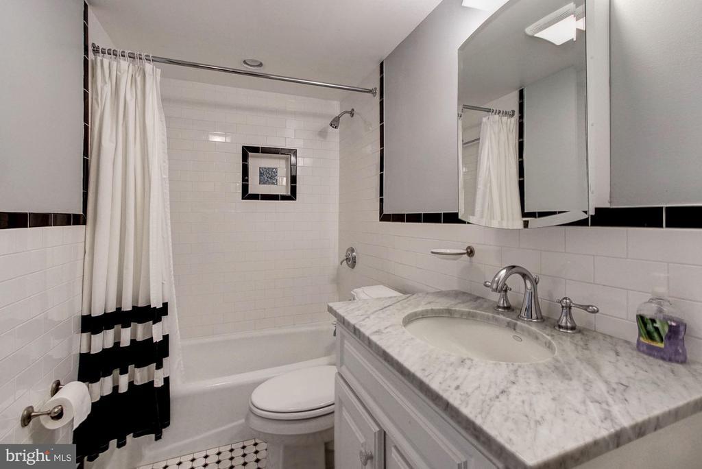 Lower Level Income Unit- Bath Room - 1008 E CAPITOL ST NE, WASHINGTON