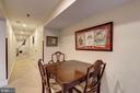Lower Level Income Unit- Dining Area - 1008 E CAPITOL ST NE, WASHINGTON