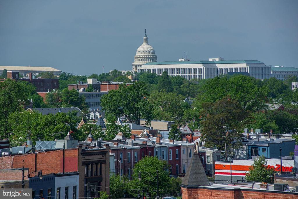 View from balcony - 1111 ORREN ST NE #501, WASHINGTON