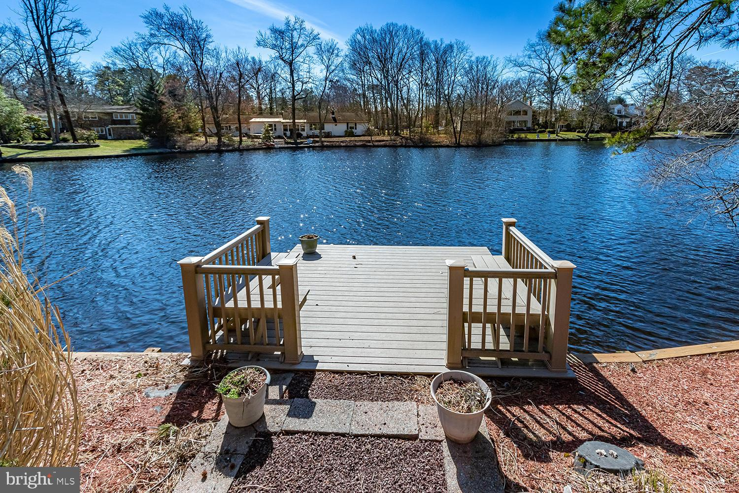 Dock view of the lake