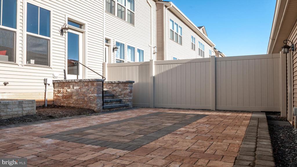 Custom paver courtyard - 3038 JACOBS GARDEN, FREDERICK