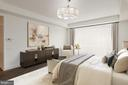 Master Suite offers Ample Closets - 2660 CONNECTICUT AVE NW #5E, WASHINGTON