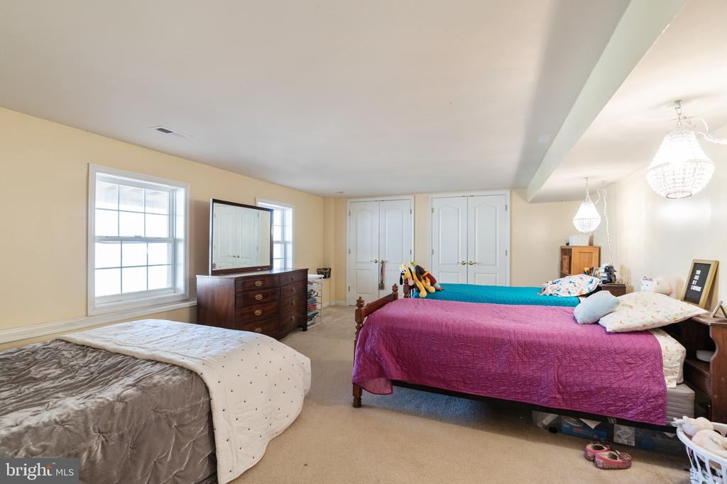 Lower level rm w/full windows & closet used as BR - 260 SPOTTED TAVERN RD, FREDERICKSBURG