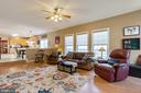 Enough room for ALL the FAMILY in the family room - 260 SPOTTED TAVERN RD, FREDERICKSBURG