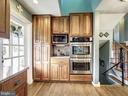 Natural Cherry Cabinetry - 7800 PERSIMMON TREE LN, BETHESDA
