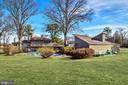 Backyard on Two Acres - 7800 PERSIMMON TREE LN, BETHESDA