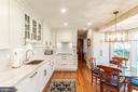 Renovated kitchen with a 130k 2017 renovation. - 11905 VIEWCREST TER, SILVER SPRING