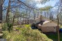 A side view of the house and back yard. - 11905 VIEWCREST TER, SILVER SPRING