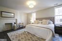 Master suite, exposed brick. - 1745 N ST NW #213, WASHINGTON