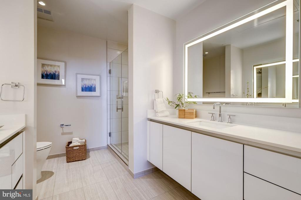 Double vanity, large master bathroom - 1745 N ST NW #213, WASHINGTON