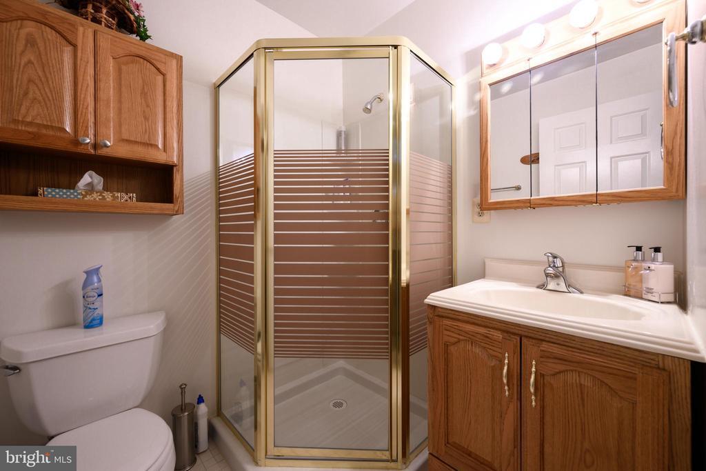 Lower level full bath - 34 WADDINGTON CT, ROCKVILLE