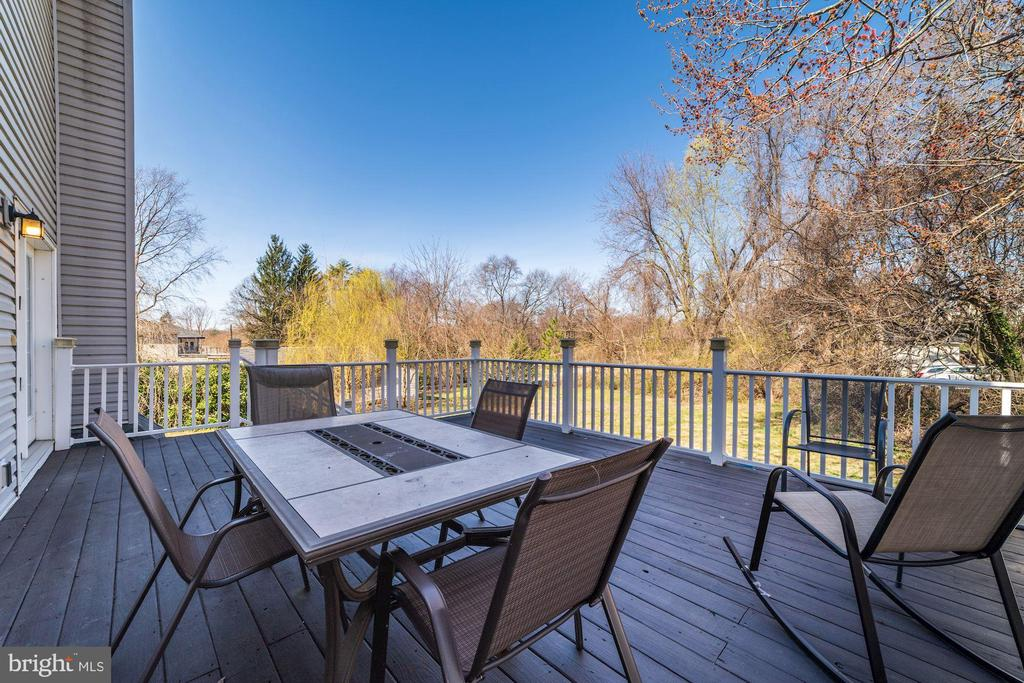 This view from back deck is incredible!!! - 7102 BYRNELEY LN, ANNANDALE