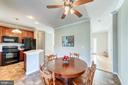Eat in kitchen - 7102 BYRNELEY LN, ANNANDALE