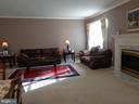 Living Room showing Fireplace w/ Mantle - 12509 HAWKS NEST LN, GERMANTOWN
