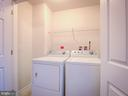 Washer/Dryer on Master Bedroom Level - 43370 TOWN GATE SQ, CHANTILLY