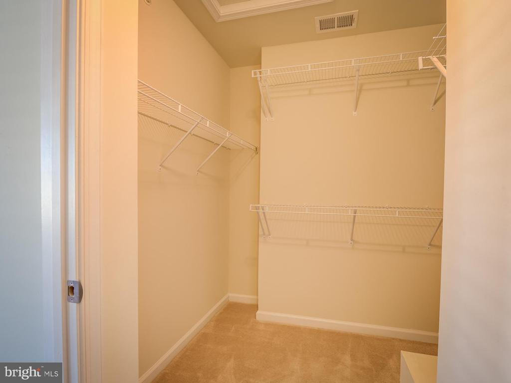 Master Walk-in closet - 43370 TOWN GATE SQ, CHANTILLY