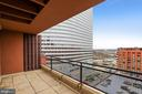 Balcony for Enjoying the Views - 1121 ARLINGTON BLVD #1005, ROSSLYN