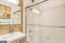 Hallway Bathroom - 1121 ARLINGTON BLVD #1005, ROSSLYN