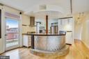 Very Contemporary Kitchen - 1121 ARLINGTON BLVD #1005, ROSSLYN