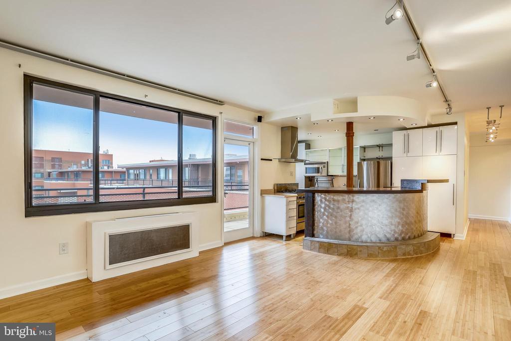 Bright & Open Living Area - 1121 ARLINGTON BLVD #1005, ROSSLYN