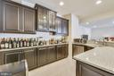 Wet bar in basement! Great for entertaining! - 41178 CHATHAM GREEN CIR, ALDIE