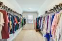 Look at this master closet !! - 41178 CHATHAM GREEN CIR, ALDIE