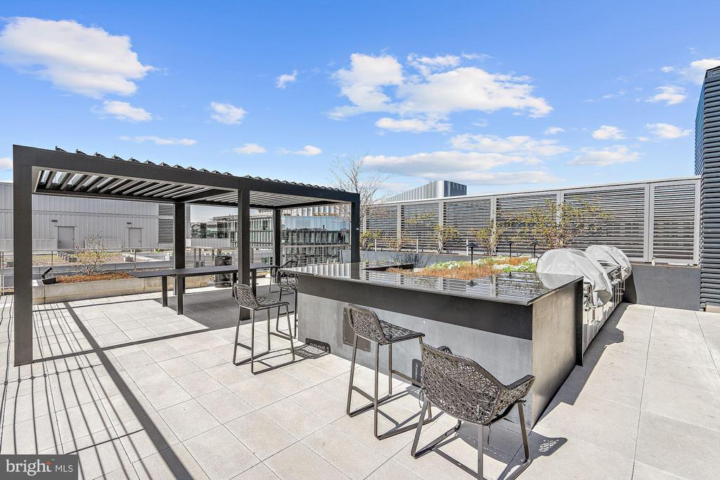 Roof Top Deck Outdoor Kitchen - 920 I ST NW #811, WASHINGTON
