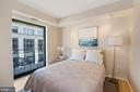 Second Bedroom with private balcony. - 920 I ST NW #811, WASHINGTON