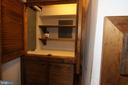 custom storage area in kitchen - 35820 CHARLES TOWN PIKE, HILLSBORO
