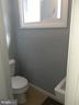 Lower Level Half Bath - 6809 VALLEY PARK RD, CAPITOL HEIGHTS