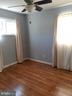 Bedroom #2 - Refinished Wood Floor - Fan - 6809 VALLEY PARK RD, CAPITOL HEIGHTS
