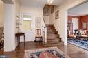Welcoming Entrance Hall - 17 MAGNOLIA PKWY, CHEVY CHASE