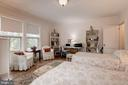 Third Bedroom/Guest Room with high ceiling - 17 MAGNOLIA PKWY, CHEVY CHASE