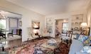 Large Living room open to Dining Room - 17 MAGNOLIA PKWY, CHEVY CHASE