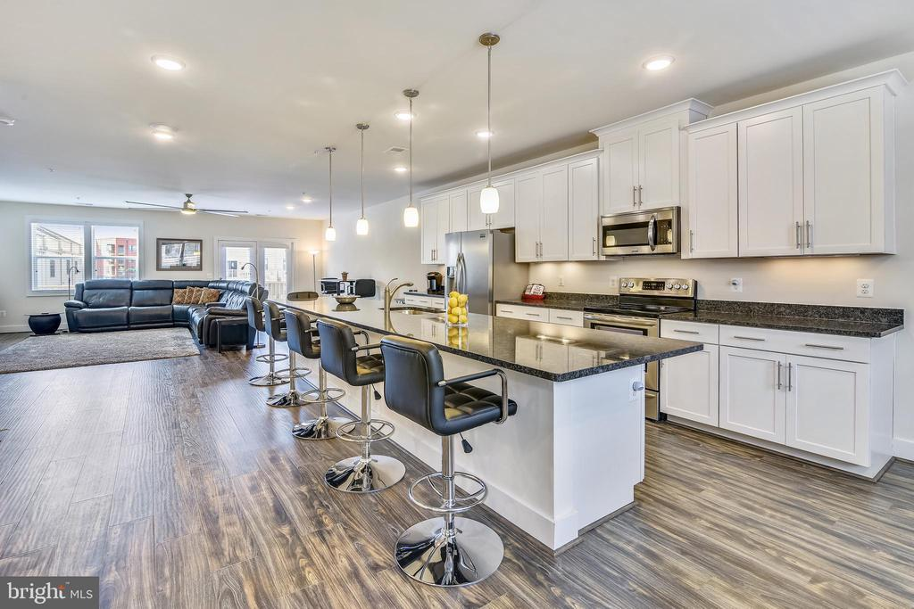 Gather 'round your 14 FOOT Center Island! - 20495 MILBRIDGE TER, ASHBURN