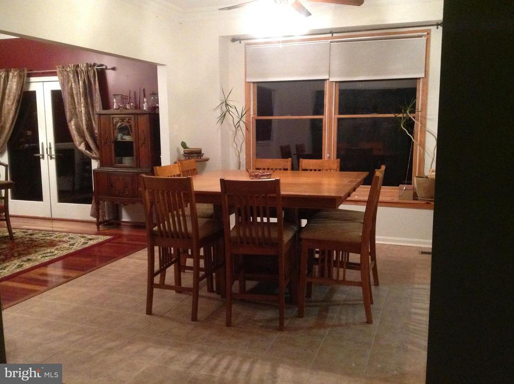 Eat-in kitchen area - 12090 MOUNTAIN WATCH CT, LOVETTSVILLE