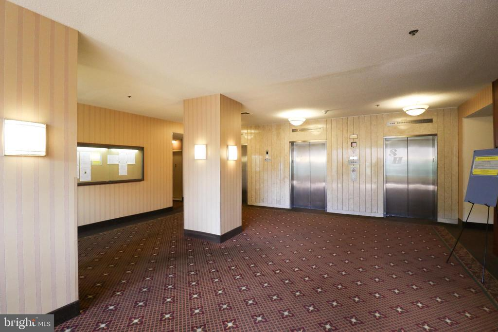 Elevators to your new Condo - 3709 S GEORGE MASON DR #210, FALLS CHURCH